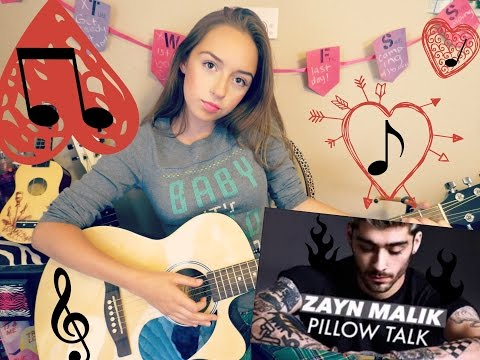 PillowTalk Guitar tutorial! 2 CHORDS! NO CAPO!  BEGINNERS!