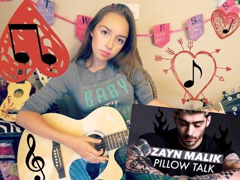 PillowTalk Guitar tutorial! 2 CHORDS! NO CAPO!BEGINNERS!
