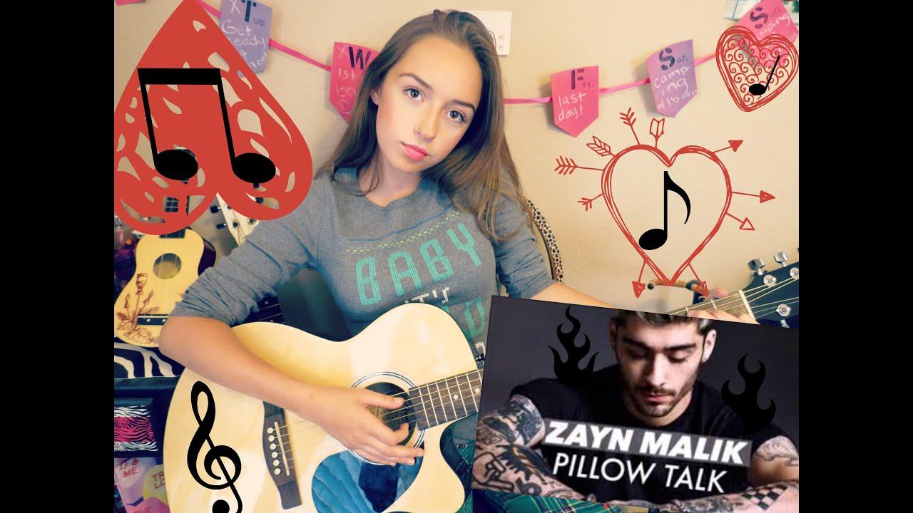 Pillowtalk Guitar Tutorial 2 Chords No Capo Beginners Youtube