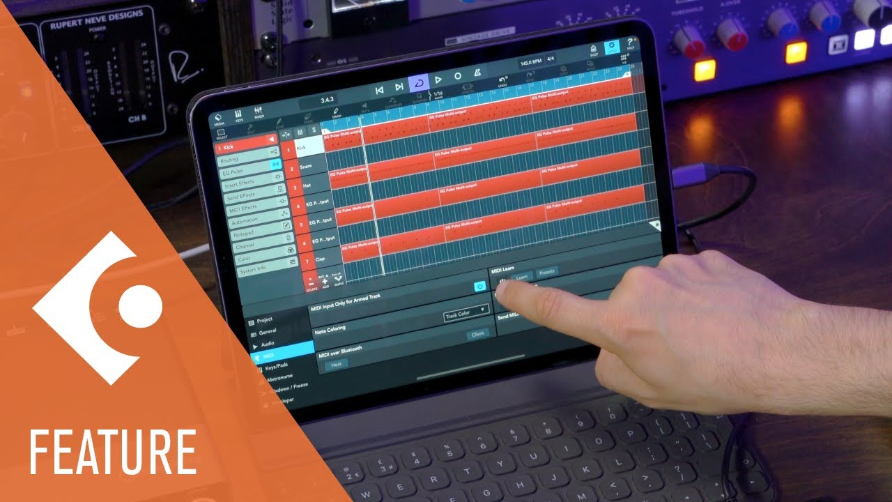 MIDI Learn, AUv3 Multi Out, Sidechain and More   What's New in Cubasis 3.3