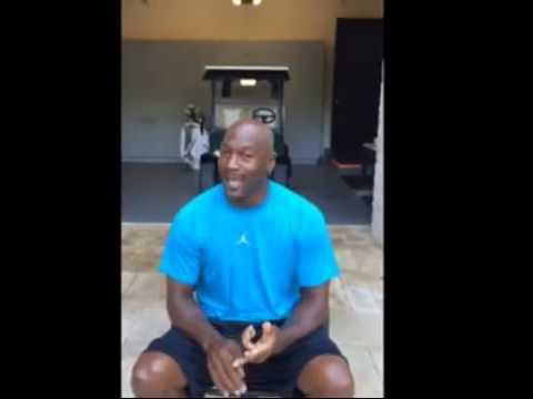 Michael Jordan Ice Bucket Challenge #IceBucketChallenge