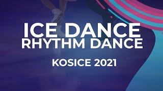 Vasilisa Kaganovskaia Valeriy Angelopol RUS ICE DANCE RHYTHM DANCE Kosice Week 3 2021 JGPFi