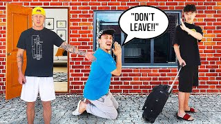 Im MOVING OUT PRANK on FAZE HOUSE *gone too far*