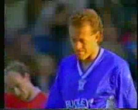 Welsh Cup Final - 1987/1988 - Alan Curtis Goal