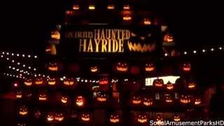 Los Angeles Haunted Hayride 2014 Complete Experience (Full Ride POV) HD