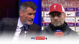 Klopp clashes with Keane in post match interview! 👀 🍿 | Post match reaction