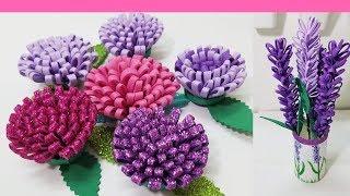 diy como hacer flores de foamy o goma eva fáciles