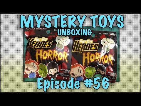 Thumbnail: MYSTERY TOYS! Episode #56 - Unboxing Horror #Funko Pint Size Heroes
