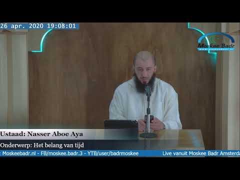 Nasser Aboe Aya: Het belang van tijd