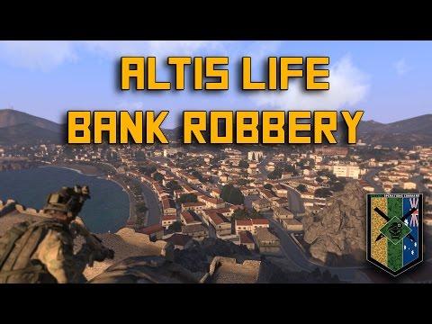 Military Style Altis Life Bank Heist.