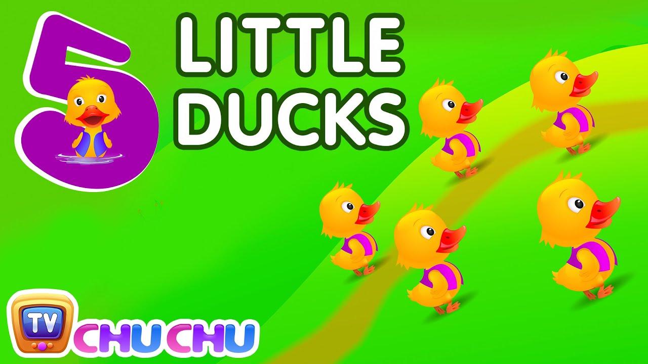 Five little ducks Nursery Chu Chu Tv Rhymes
