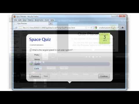 Camtasia Studio 8: How Do I Create Quizzes?