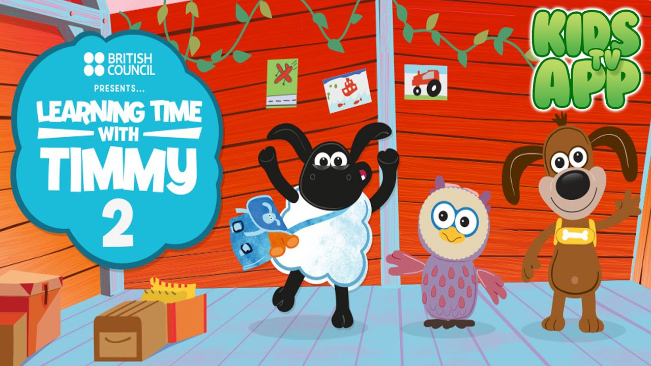 Learning Time With Timmy 2 Games To Learn English