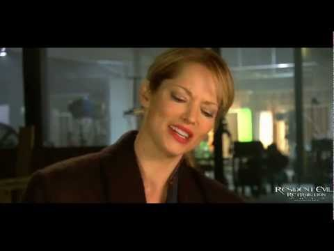 Resident Evil Retribution  with Sienna Guillory Jill Valentine
