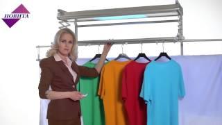 видео Сушилка для ванной: настенная, потолочная, напольная