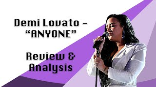 "Demi Lovato - ""Anyone"" REVIEW"