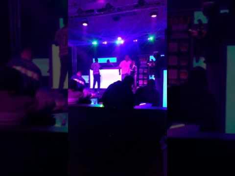 Vega performing live @celebrities In Cincinnati ohio