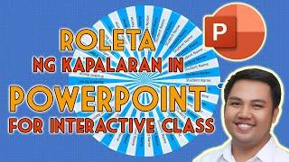 ROLETA NG KAPALARAN IN POWERPOINT F...