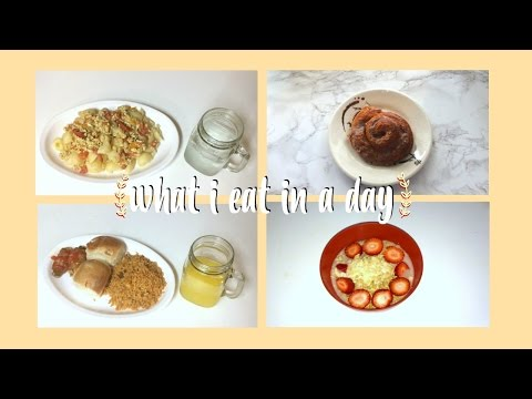 what i eat in a day #1 ☀ NOT vegan