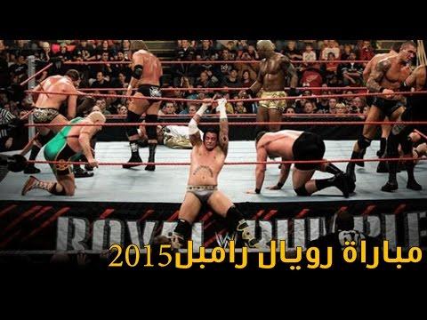 #مشاجرة في حلبة المصارعة 2015 WWE