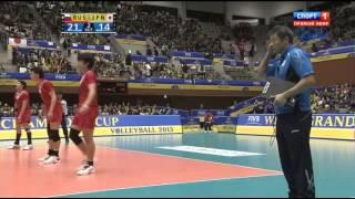 Волейбол  Мужчины  Большой Чемпионский Кубок  Россия Япония  20 11 2013