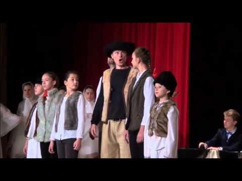 Vianočná rozprávka J. J. Rybu, Detská Opera Harmónia Bratislava - zostrih záznamu TV Bratislava 2015