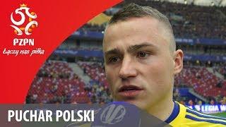 Michał Nalepa po finale Pucharu Polski