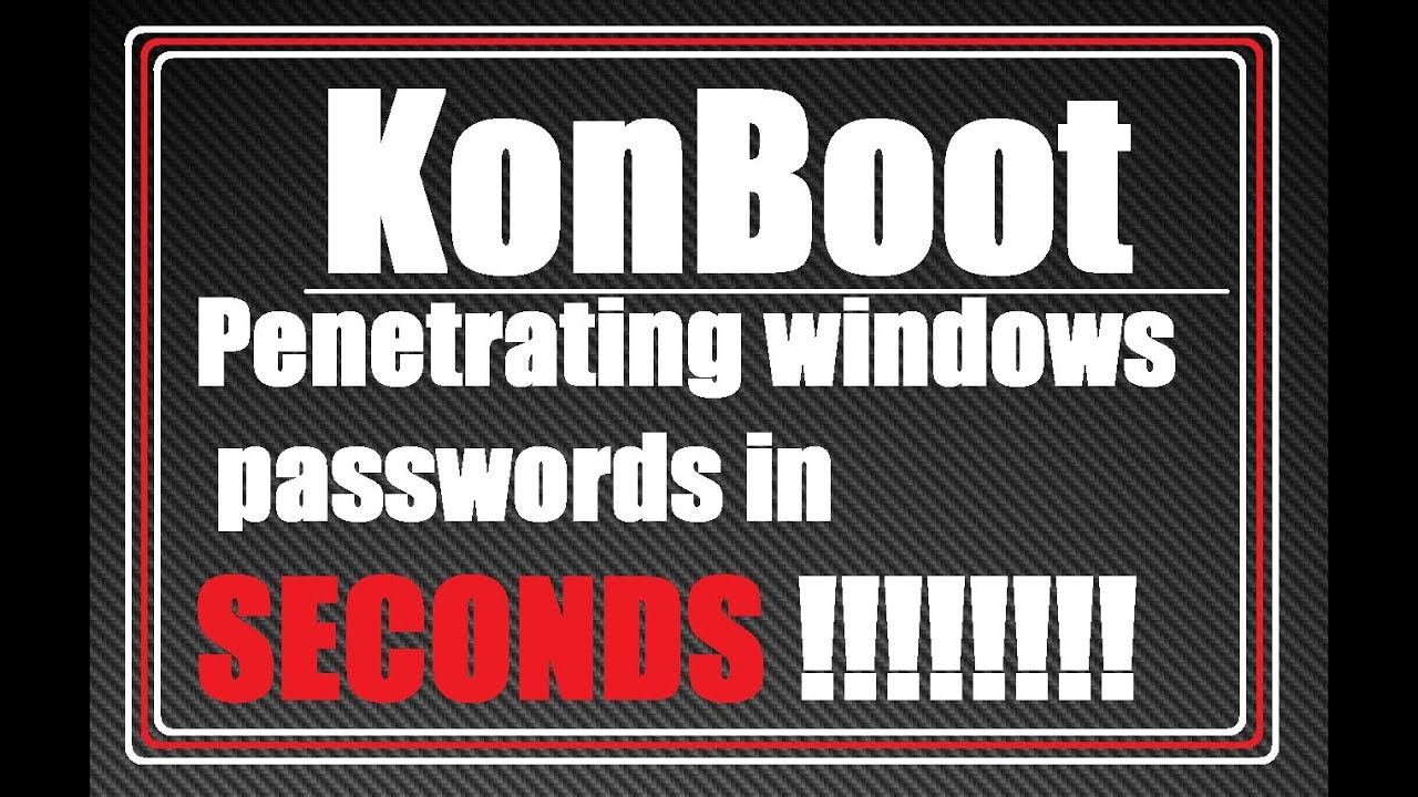 kon boot windows 8