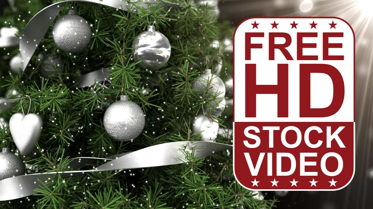 free hd video backgrounds celebrations christmas frame greeting card with christmas tree closeup - Free Christmas Photo Frames
