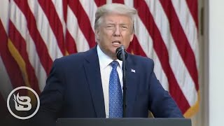 Trump SLAMS Violent Rioters, Promises Justice for George Floyd