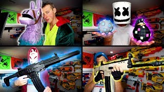Nerf meets Fortnite | Real Life Fortnite Nerf Gun Mods!