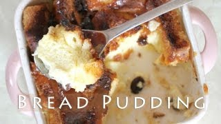 Easy Bread Pudding Recipe 브레드푸딩 만들기 Como Hacer Budín De Pan. Pouding Au Pain