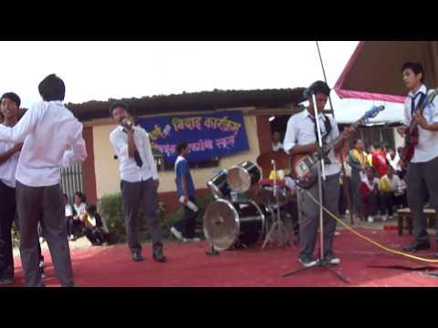 Nepali song Akashaima of gloomy guys cover concert