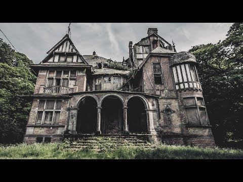 ABANDONED MANSION HOUSE HIDDEN IN THE FOREST