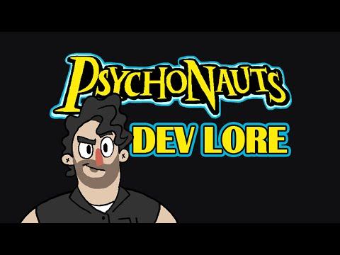 LORE – Psychonauts Dev Lore In A Minute!