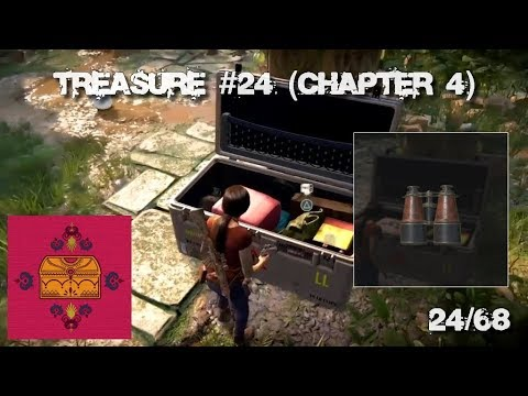 Treasure 24/68 - Leather Covered Binoculars (Chapter 4) - Uncharted Lost Legacy