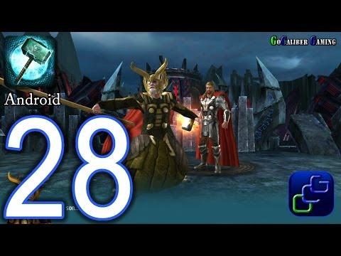 Thor: The Dark World - The Official Game Android Walkthrough - Part 28 - Svartalfheim 83-87