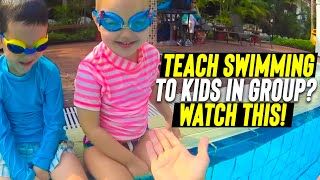 TEACH TO SWIM CONFIDENT your child in 1 LESSON in a Fun Way | Children Water safe & independent