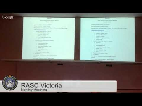 RASC Victoria Monthly Meeting Februrary 2016