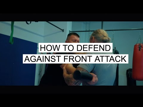 Peter Weckauf | SAMICS | Simple Fight Strategie - How To Defend Against Front Attack!