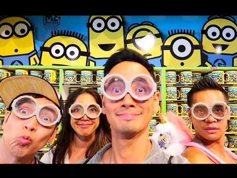 CRAZY TIMES at Universal Studios Hollywood!!! Vlog.018 - Sam Pablo