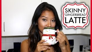 Skinny Gingerbread Latte ❄ #decemberdaze Day 9