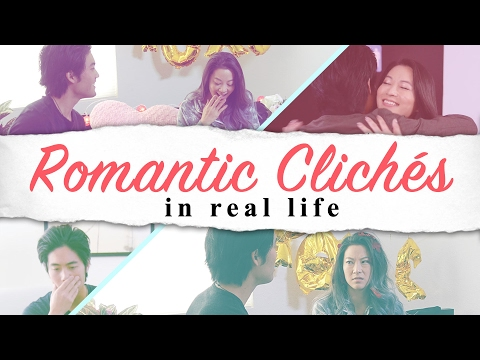 Thumbnail: Romantic Cliches in Real Life!
