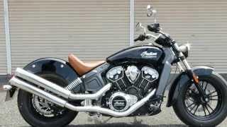 インディアン(Indian Motorcycle)・スカウト (Scout)ギャングスリップオンマフラー