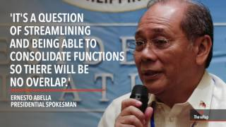 Malacañang says 'no politics' in possible PCGG abolition