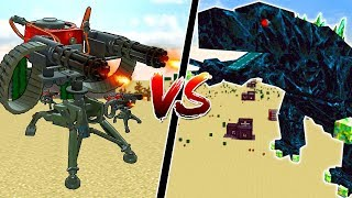 1,000 MINECRAFT SENTRY GUNS vs THE MOST POWERFUL MINECRAFT BOSSES!!
