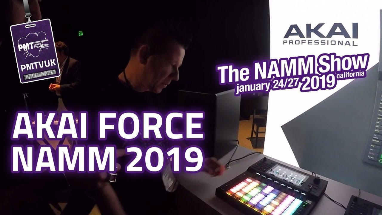 Akai Force Standalone Music Production System