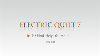10 Find Help Yourself! – EQ7 Help