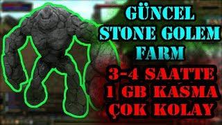 Knight Online Güncel 1000X CZ Stone Golem Farm 2019