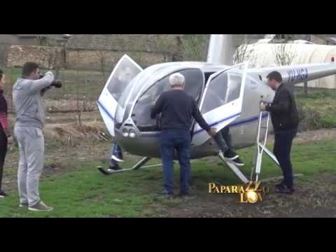 Darko Lazic iznajmio helikopter na svojoj njivi